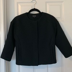 Top shop cropped coat